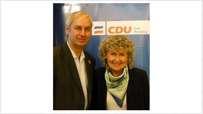 Ortwin Schmidt und Heike Beukelmann kandidieren für den Kreistag